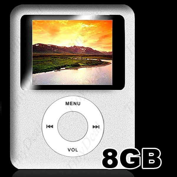 mp4 8 gb lcd 1 8 estilo nano brinde 200 musicas loja tecno 1 o numer. Black Bedroom Furniture Sets. Home Design Ideas